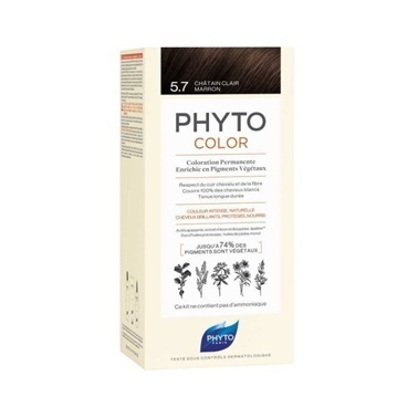 PHYTO Phyto Phytocolor 5.7 Light Chestnut Brown Kahve
